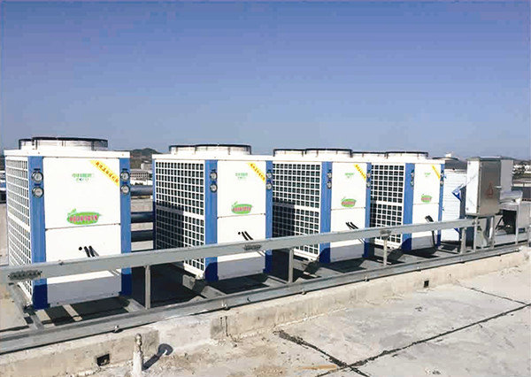 空气能超低温热泵