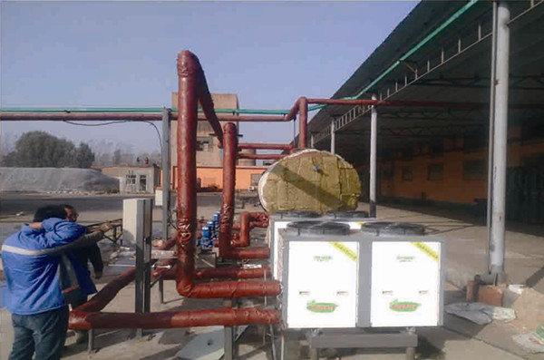 绿地能源工业热水工程