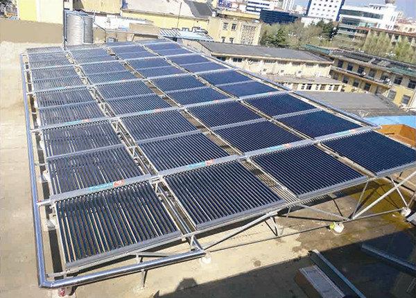 新风尚酒店太阳能热水工程