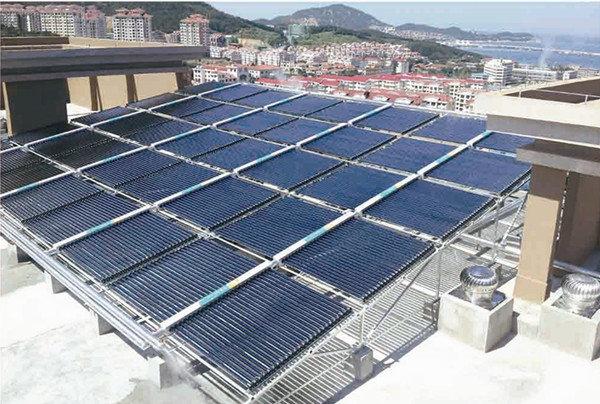 望海·山公馆集中热水工程