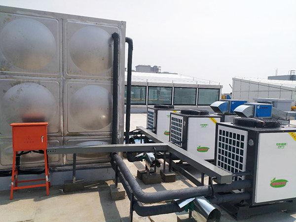 空气能热泵厂家安装